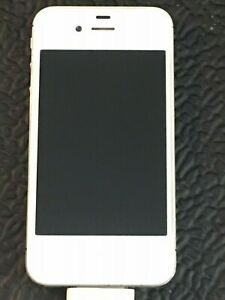 Apple iPhone White Model #MC924LL/A      AT&T Locked