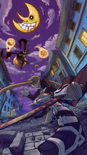 "034 Soul Eater - Shinigami Death the kid Anime 24""x42"" Poster"