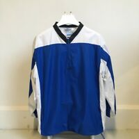 Mens Reebok Quarter Zip Jacket - Size XL - Blue & White