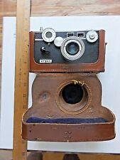 Vintage Argus C3 Camera with Original Leather Case.
