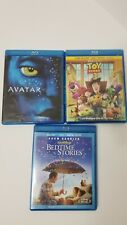 Blu Ray Lot - Avatar, Toy Story 3, Bedtime Stories