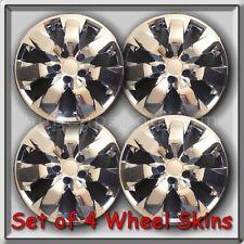 "2008-2010 Honda Accord Wheel Skins Chrome 17"" Hubcaps Chrome Wheel Covers"
