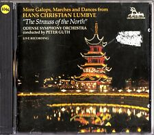 Hans Christian Lumbye- Galops, Marches & Dances- CD- Peter Guth- Odense SO- LIVE