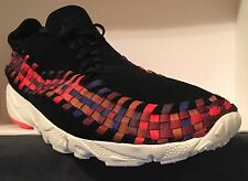 SZ.11 NikeLab Air Footscape Woven NM 874892-003 Black-Sail/Total-Crimson