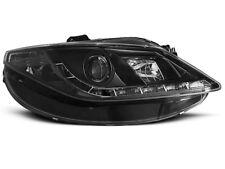 Paire de feux phares Seat Ibiza 6J 08-17 Daylight led noir (E18)