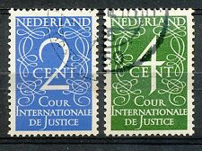 Nederland Dienst 25 - 26 gestempeld (1)