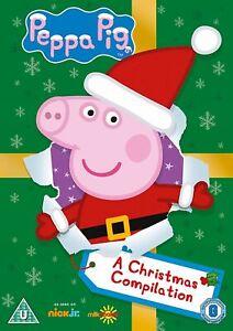 Peppa Pig - A Christmas Compilation DVD Childrens Kids Family Santa Magic *NEW*