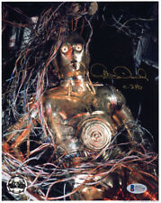 ANTHONY DANIELS SIGNED AUTOGRAPHED 8x10 PHOTO C-3PO STAR WARS OPX BECKETT BAS