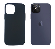 "Funda Carcasa Gel TPU Silicona Lisa Para Apple iPhone 12 Pro (5G) 6.1"" Negro"