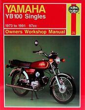 Haynes Yamaha YB100 Singles 73-91 Service Manual