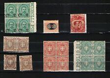 Lotto Regno Umberto I 18 val MNH/MLH leggere descrizione