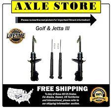4 New Shocks Struts FULL Set Lifetime Warranty  Golf Jetta #40210, Guarantee Fit