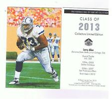 2013 Larry Allen goal line art card Dallas Cowboys