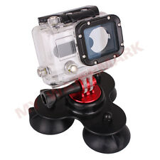 GO PRO TMC Removable Suction Cup Mount for Gopro Hero HD Black
