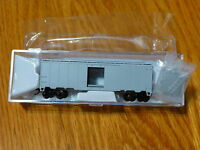 "Atlas N #50000114 Undecorated #1 ""Long Tab"" (1932 ARA 40' Steel Boxcar RTR) NEW"