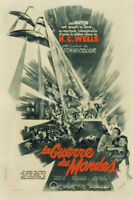 H.G. Wells The war of the worlds #8 movie poster print