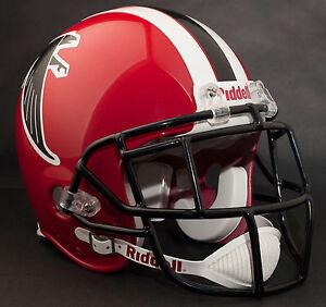 DEION SANDERS Edition ATLANTA FALCONS Riddell AUTHENTIC Football Helmet NFL