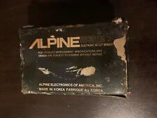 Alpine Electronic Impact Sensor. 8327