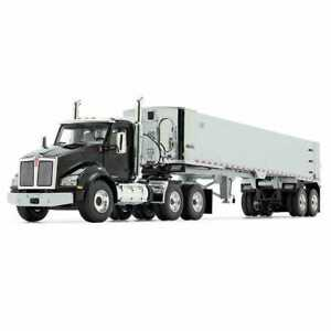 Kenworth T880 East End Dump - Black/Chrome - First Gear 1:50 Scale #50-3452 New!