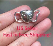 2 pcs Face Mask Metal Charm Pendant, Silver Alloy, Icon of 2020! Fast Ship