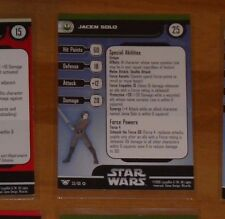 STAR WARS MINIATURES ALLIANCE AND EMPIRE 53/60 JACEN VR CARD