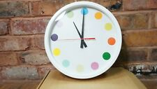 RARE 2009 Damien Hirst Contemporary Art Spot Clock 35cm With Original Box