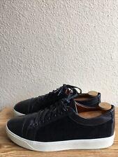 "AE Allen Edmonds ""BRISBANE"" Sneakers 11 D Black 43889 Pre-Owned Condition"