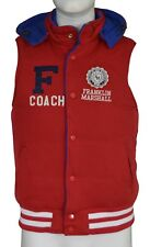Franklin Marshall Goose Down Reversible Gilet Body Warmer Men's Size Small