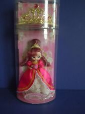 "Vintage Takara Rose Gems Doll "" La Reine Rose ""By Sanrio Princess+Rose Gem Tiara"