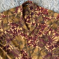 Made In California 60s Vintage Large Hawaiian Shirt Rockabilly Cotton Floral