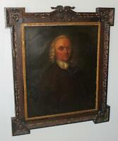 19th C. HUGE Victorian Original OIL PAINTING Folk ART  PENNSYLVANIA Americana
