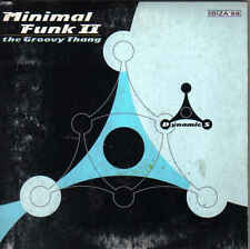 Minimal Funk 2-The Groovy Thang cd  single Italo Dance