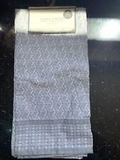 2x Zara Home Kitchen Towel 100% Cotton