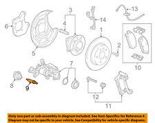 Buick GM OEM 16-18 Cascada Brake-Rear Suspension-Vibration Damper Stud 13343686