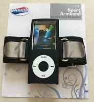 iPod Nano 4th Gen 4G Sports Armband Case Cover RUNNING GYM EXERCISE