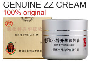 ZZ cream Zhongzhou Zinc Oxide, Treatment mites. Demodex, rosacea, acne ointment.