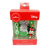 Hallmark 2020 Disney MINNIE MOUSE Ornament - Baby's First Christmas Photo Frame