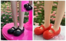 2Pairs Mary Janes Shoes For Blythe Doll Causal Shoes For Licca Doll Mini Shoes