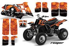 AMR Racing Yamaha Banshee 350 Decal Graphic Kit ATV Quad Wrap  87-05 REAPER ORNG
