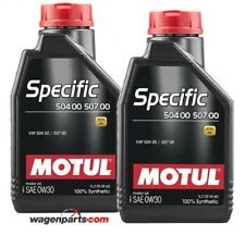 Aceite Motul Specific Volkswagen Audi Skoda Seat 50400 50700 0W30,pack 2 litros