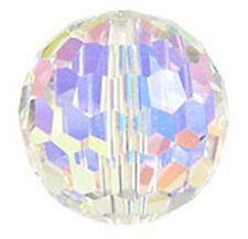 Verre cristal swarovski disco ball 5003, crystal ab colour, 14 mm