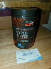 GNCAMP Hyper-Ripped Thermogenic Pre Workout Powder 10.58 OzBlue Frostberry 12/19