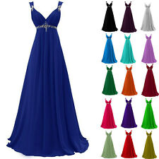 Formal Long Evening Prom Party Dress Cocktail Ball Gown Bridesmaid Dresses 6-24.