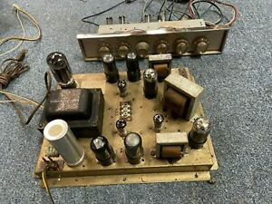 VINTAGE MOTOROLA 3 CHANNEL STEREO AMPLIFIER AND PREAMPLIFIER HS-963 HS-964