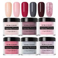 6 Boxes NICOLE DIARY Nail Art Dipping Powder System Natural Dry NO UV Kit