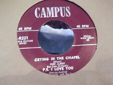 45}CAMPUS RECORDS SAMPLER JERRY WALLACE AND THE TOPPERS ETC, VG+ EP COPY 4 SONGS