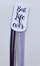 10 Book Mark Bible Markers 6 Ribbons BEST LIFE EVER Convention JW.org Gifts Idea