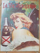 AFFICHES CHAMPAGNE DE Castellane Vintage