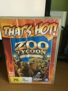 Zoo Tycoon Complete Collection That's Hot! PC DVD Microsoft Game, Pre-owned.
