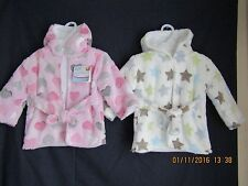 NEW FIRST STEPS  DRESSING GOWN ONE SIZE PINK OR BLUE